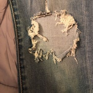 American Eagle Outfitters Jeans - AE Super Soft Light Wash Distressed Jeggings